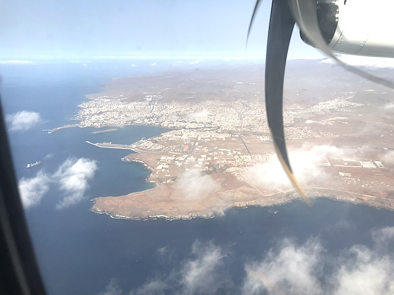Cape Verde Travel domestic flight to praia