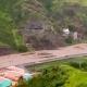 Heavy rain in Santo Antão