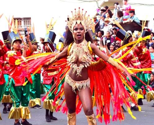 carnival in mindelo sao vicente cape verde
