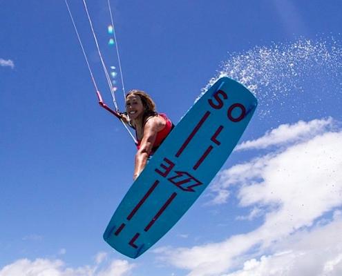 kite surfing, sal cape verde