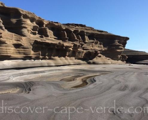 Carbeirinho rocks São Nicolau Cep Verde