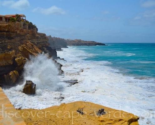 Cliffs on Maio Cape Verde