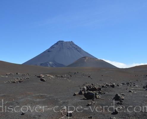 Clear day in Fogo caldera