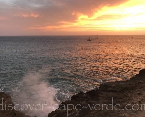 Sunset from Forte Jose, Maio