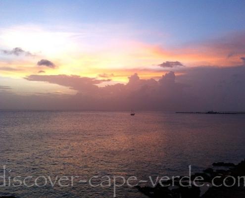Sunset from Vila do Maio, Maio