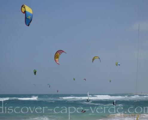 kite beach on sal island