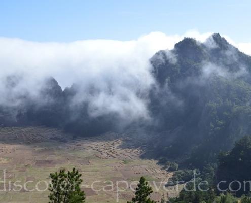 Clouds over Cova on Santo Antão