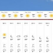 weather in january 2021