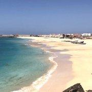 Main beach in Vila do Maio