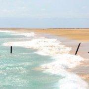 Beach in Vila do Maio, Maio island