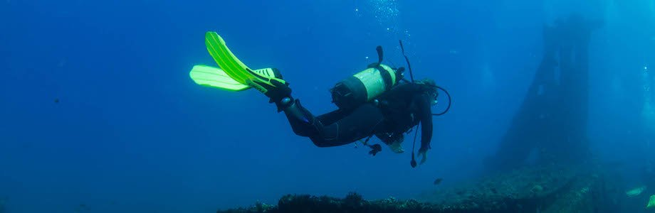 Diving on Sao Vicente