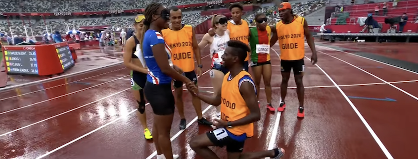 Paralympic marriage proposal